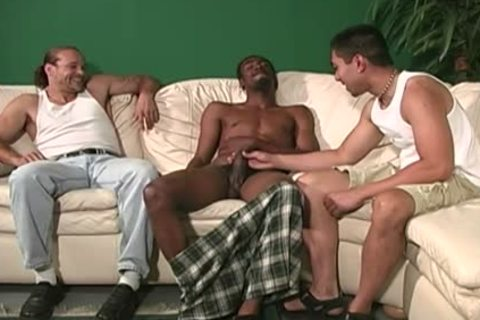 White lad acquires wazoo team-pounded By dark males