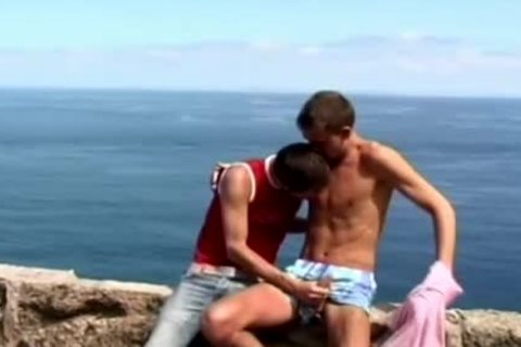 wild homo legal age teenagers engulfing penis outdoors By The Ocean
