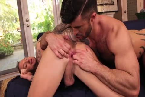 Two Inked Muscle boyfrends raw nail