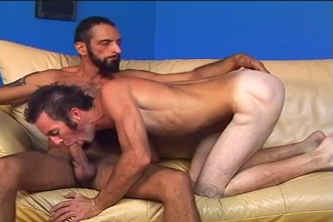 Two hairy boys Randy And Tom Colt nail Each Other