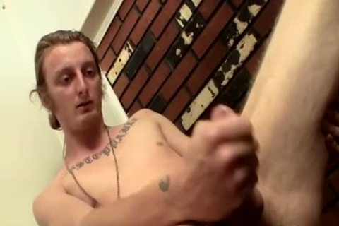 long Hair twink Billy Jerks His Hard dick In Front Of Camera