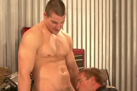 kinky homosexual guys nailing At Work