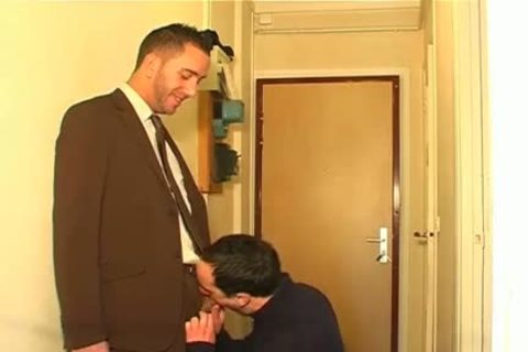 Full video scene: A blameless Neighbour Serviced His enormous penis By A lad!