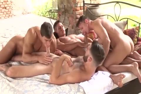 Party Of Four Muscle boys