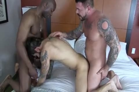 Champ Robinson, Draven Torres, Rocco Steele - Awesom 3some undressed