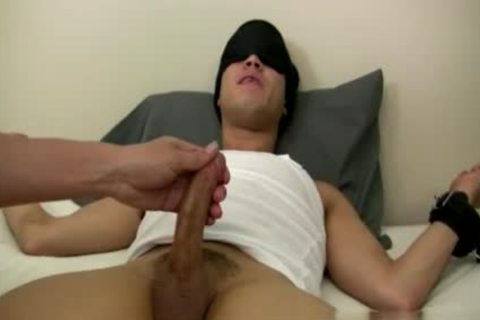 homosexual Sex clip Tall chap naked Mr. Hand Preps Willy And I Can