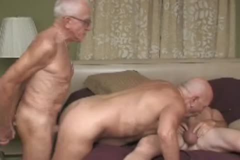 grandad fuck three-some
