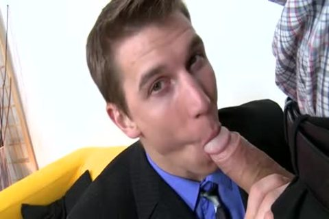 large cock Daddy Casting And Facial