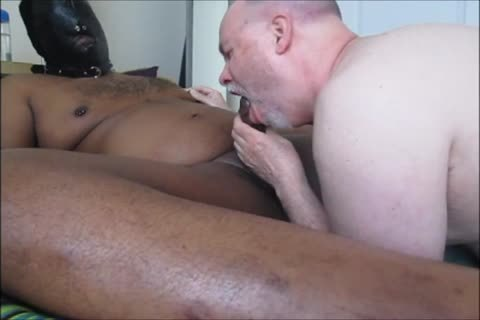 Hooded dom Feeds Me His BBC.  ODV 71.