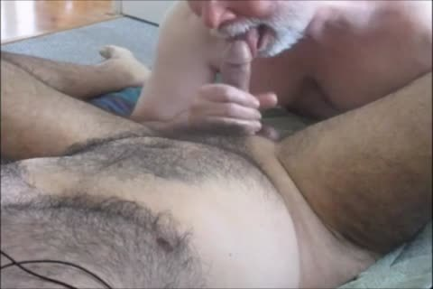 excited, hairy Latino acquires