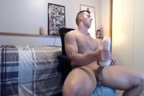 cute Fit fuck Gives His Fleshlight A worthwhile nailing