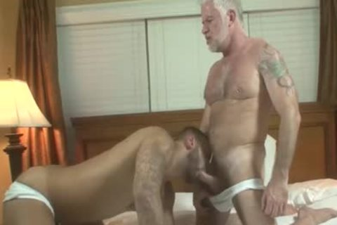 handsome Silver Daddy Jake Marshall And juvenile guy Rikk plow On Vacation