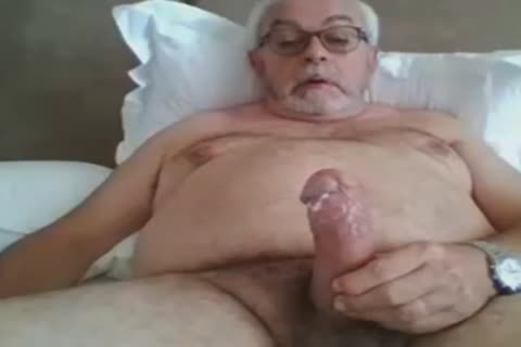 grandad jerk off On web camera