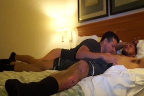 lusty Puerto Rican Straight guy bonks homo wazoo For