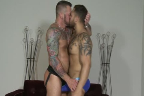 Latin gay oral-sex And cumshot