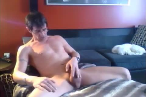 that dude Spends The Day Masturbating In His sofa