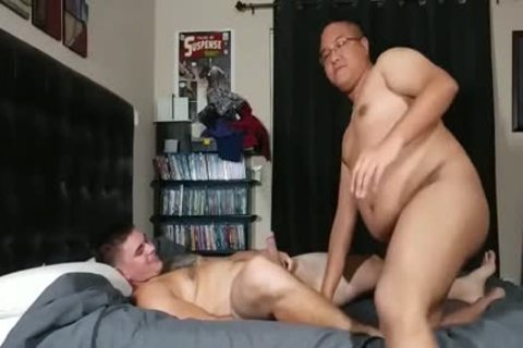 plump Bottom drilled By A Straight lad