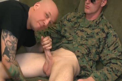 Marine Sgt James oral stimulation-sex