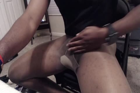 15 Minute wank And sperm In Sheer Energy pantyhose
