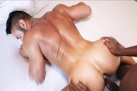 Being slammed By A massive darksome cock