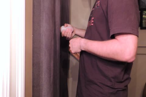 Straight 22 Year old With An 8 Inch Cut Trimmed ramrod Comes By My Gloryhole