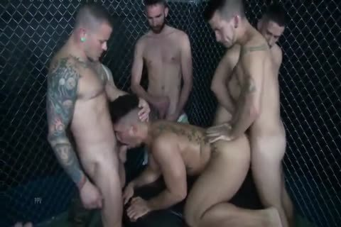 The thick gang group sex