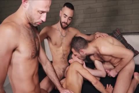 bareback - bare group-sex