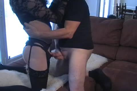 Petgirl Crossdresser plowed By daddy master