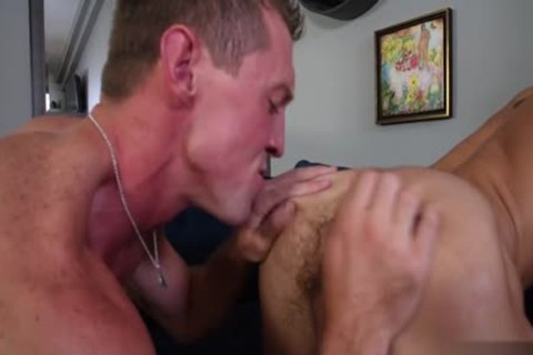 large ramrod gay anal job With Facial