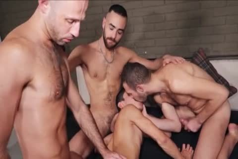 raw bareback bunch-sex