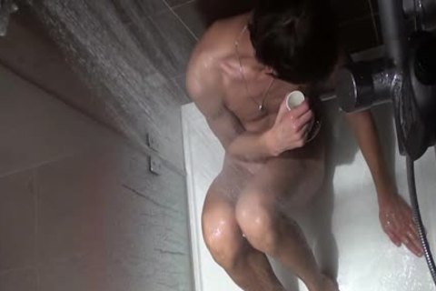 SPYING IN SHOWER