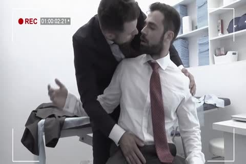 Delicious Gays Nailing In The Office