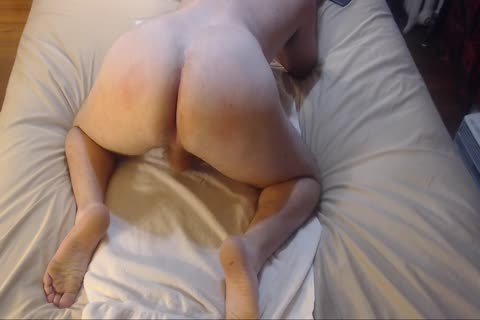 thrashing Bubble ass With a-hole-ramming Jacking Off sperm On Chest