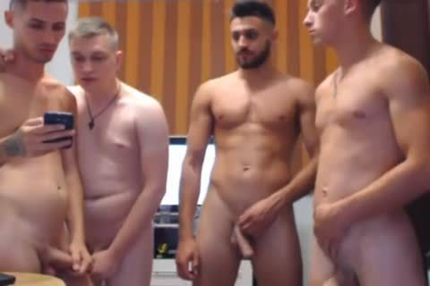 bunch Of boyz Mill About With Their dicks Out