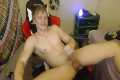 Jerking Blond
