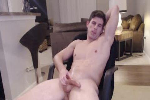 Straight Ripped Hunk loves Fingering His wazoo