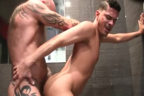 Nate And Cesar plow bare