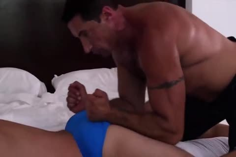 4-8 7 My shaggy Muscle Daddy pounds Me