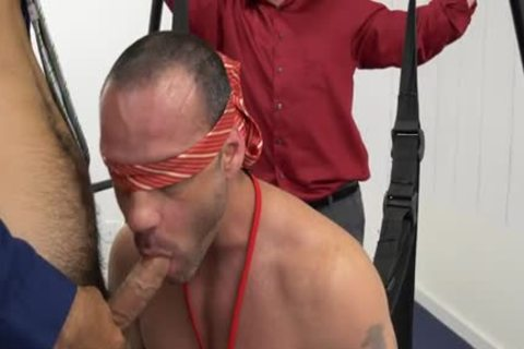 Muscle homosexual suck job-stimulation And Facial