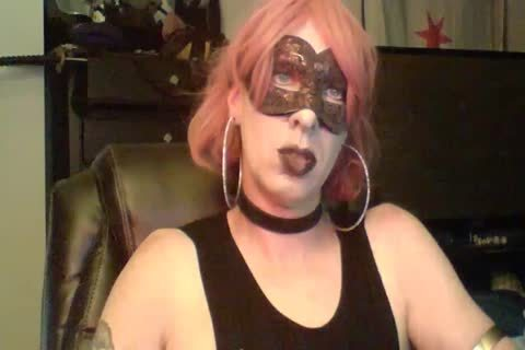 kinky Dancing Goth CD cam Show (part 2 Of 2)