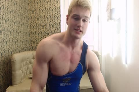 tight young Russian Muscle Hunk
