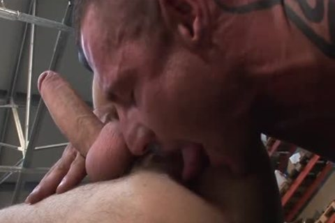 Muscle studs raw fuck