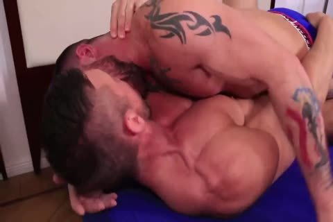Hard penis Muscle Hunks Flip pound