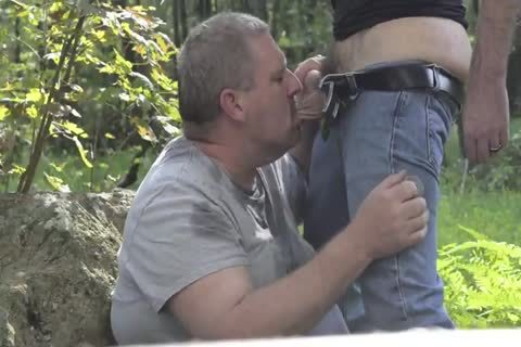 Daddies outdoors