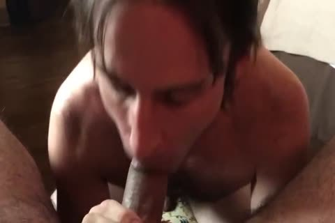 sucking A small Uncut 10-Pounder For A gigantic Load!