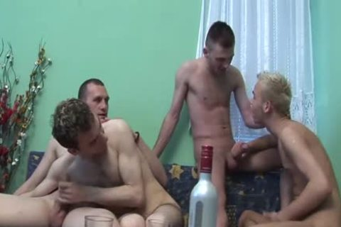 three Cumshots At one time