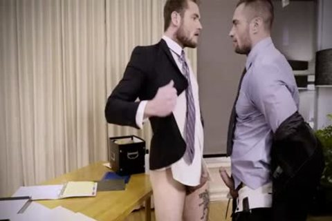 Tattoo homosexual anal sex And Creampie