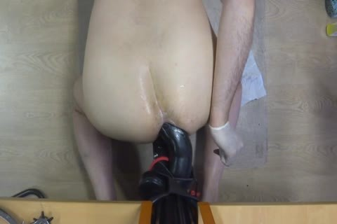 long Time Self Fuking With A humongous fake penis