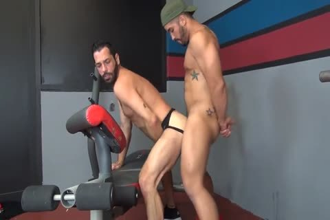 {RFC} Hungry Bottom Gym fuck - Trey Turner & Milan Gamiani