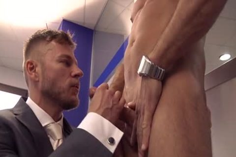 Muscle homosexual ass sex And ball cream flow
